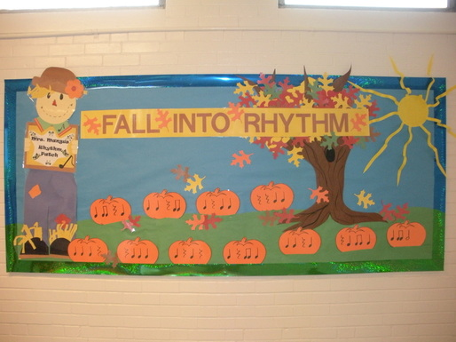 Autumn Bulletin Board Titles http://makemusicfun.weebly.com/bulletin-boards.html